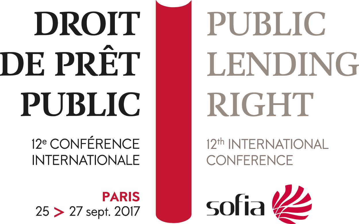 12th International Public Lending Right Conference. Paris, September 25-27 2017
